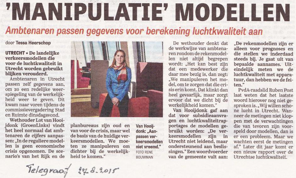 modellen volgens Van Hooijdonk