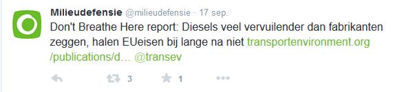 MD diesels veel vervuilender